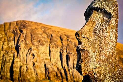 easter island carbon dating The key to the riddle of easter island was hidden in plain sight, but was not   carbon dating confirmed several pre-inca sites to be between.