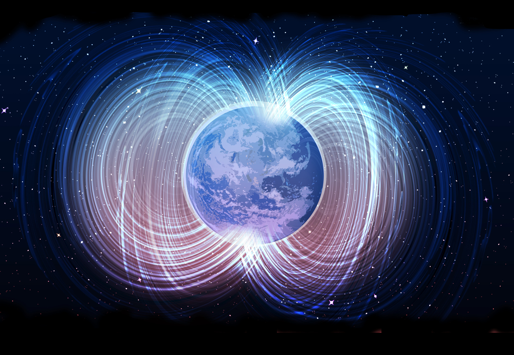 Image result for earth's magnetic field moving